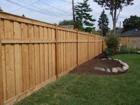 wood fence designs pictures and ideas