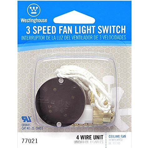 westinghouse  speed fan switch  wiring diagram