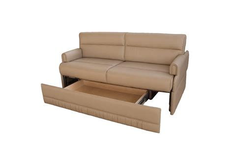 couch for rv omni jackknife sofa w removable arms glastop inc