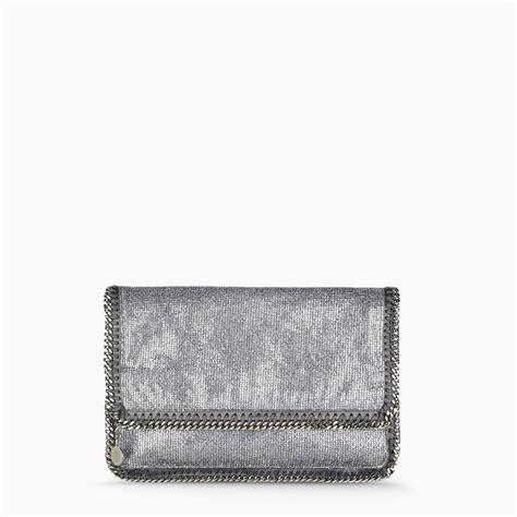 Stella Mccartney Metallic Clutch by Stella Mccartney Clutch Bag In Metallic Lyst