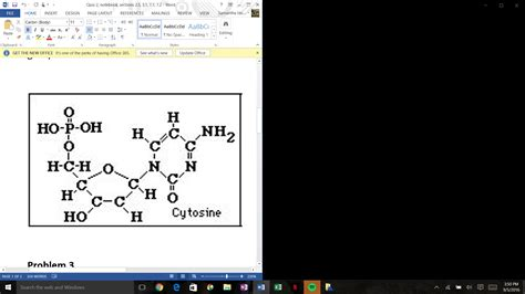 notebook layout view word 2016 solved pictured below is a common biological molecule fi