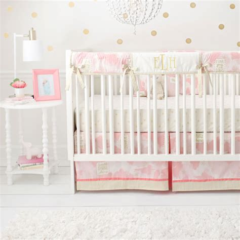 pink and gold crib bedding pink and gold crib bedding girl baby bedding pink crib