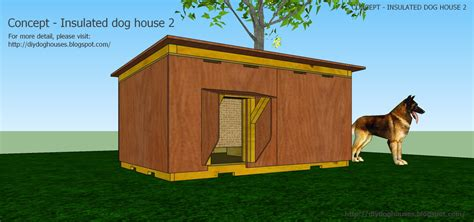 insulated dog houses large dogs dog house plans videos and plans