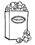 popcorn coloring pages preschool popcorn theme activities for preschool prek and kindergarten