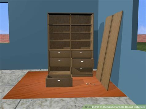 How To Refinish Particle Board Cabinets 15 Steps With Particle Board Cabinet Doors