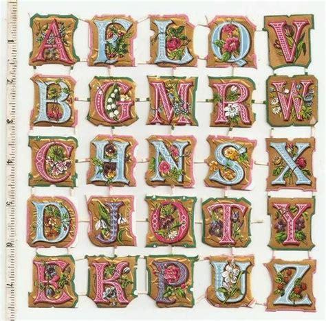 papirolas coloridas letras vintage papirolas coloridas letras para scrapbooks papirolas