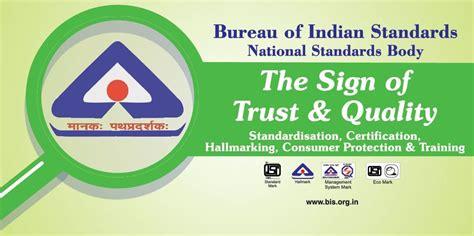 buro of indian standard bureau of indian standards