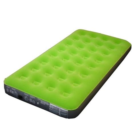 embark queen air bed embark flocked twin airbed green airbed and pump