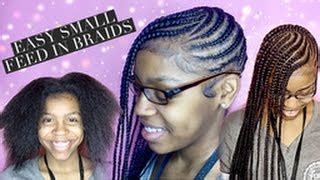 feed in braids for kids videos