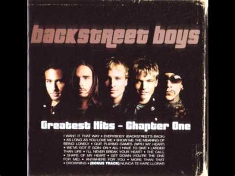 backstreet boys the one the one backstreet boys youtube