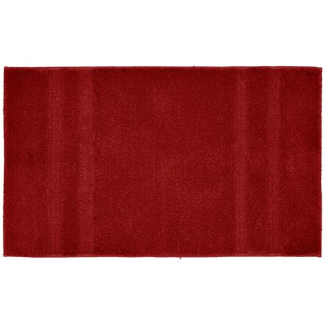 accent rugs for bathroom garland rug majesty cotton chili pepper red 24 in x 40 in