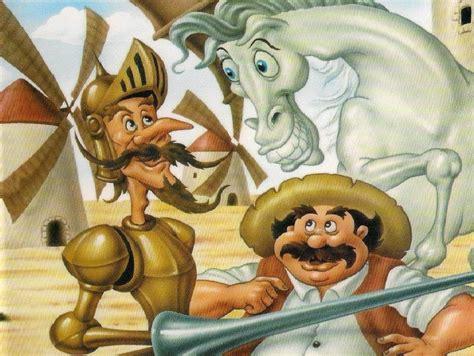 imagenes sensoriales en don quijote la mancha don quijote de la mancha dibujos animados youtube