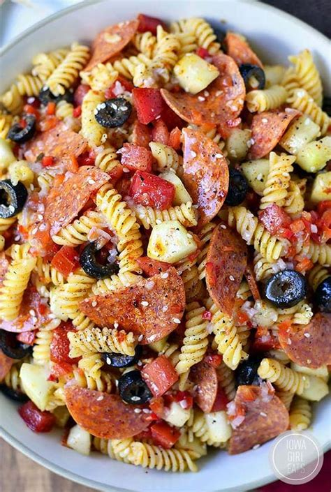 pasta salad recipe collection page