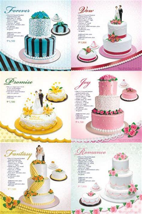 Wedding Cake Goldilocks by Philippines Goldilocks Cakes And Price List On