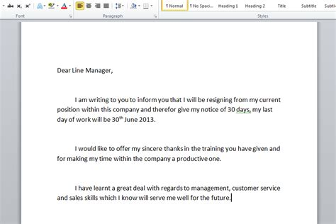 How To Write A Resignation Email Letter by How To Write A Resignation Letter With Sle Resignation Letters