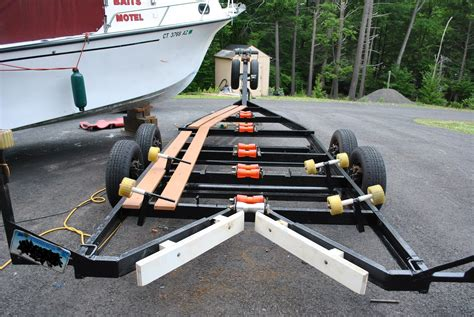 boat trailer roller covers show your trailer mods the hull truth boating and