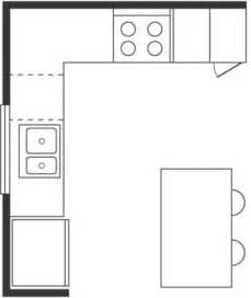 l shaped kitchen floor plan wichtige k 252 chen grundrisse entw 252 rfe und musterk 252 chen