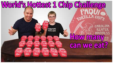 one challenge world s one chip challenge how many can we eat