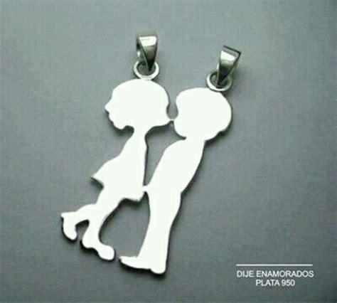 resultado de imagen de dijes de plata para parejas modelos - Modelos De Cadenas Para Parejas