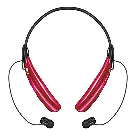 Headset Bluetooth Lg lg tone pro wireless headphones pink tone pro wireless bluetooth headphones hbs750 acuspkk pink