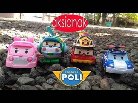 Mobil Baterai 8986 Transformer Robocar Mainan Anak mainan mobil kebakaran toys kuya