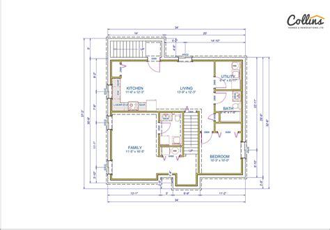 floor plans by shamrock homes shamrock floor plan basement collins homes renovations ltd