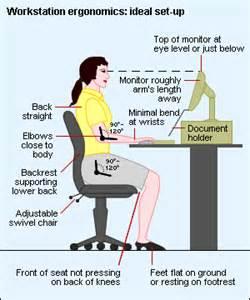 desk posture 4 tips to improve the ergonomics of workstations