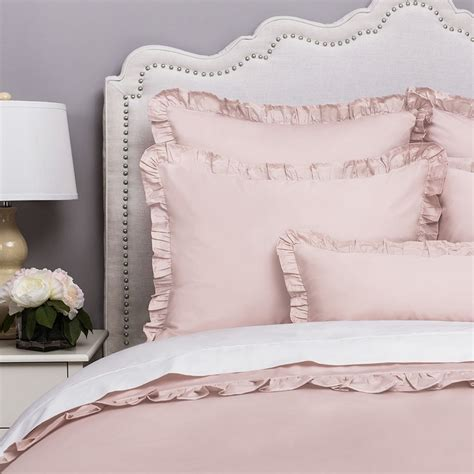 Pink Bedding by Pink Ruffle Bedding The Vienna Dust Pink Crane Canopy