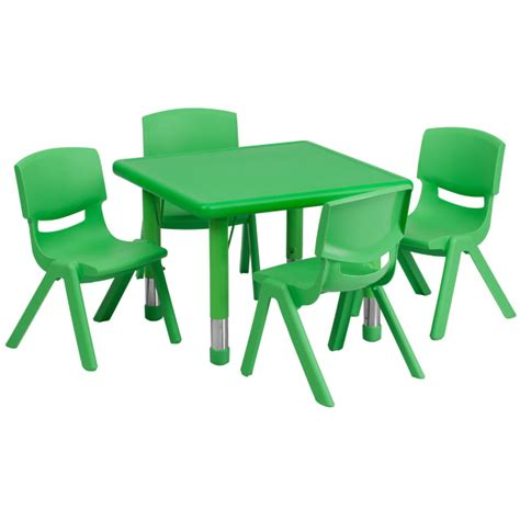 daycare tables and preschool table and chair sets at