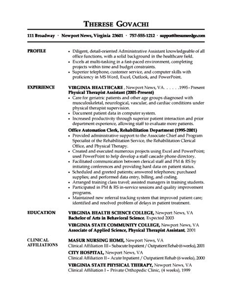 Federal Resume Sle Administrative Assistant Assistance Resume Sales Assistant Lewesmr