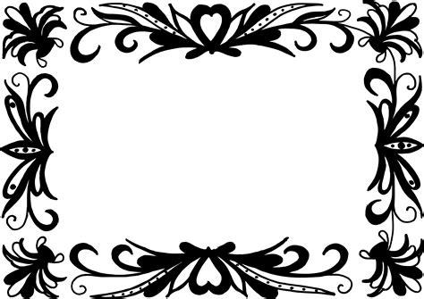 mood frame png images vectors 9 rectangle flower frame vector png transparent svg vol 2 onlygfx