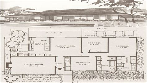 modern ranch floor plans mid century modern ranch interiors mid century modern ranch house plans hawaiian floor plans