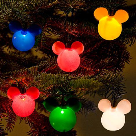 mickey mouse holiday lights set christmas pinterest