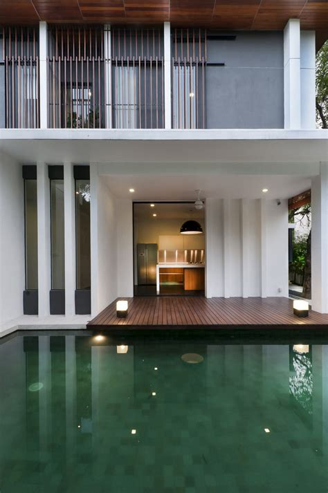 house lighting design in malaysia pool deck lighting modern home in kuala lumpur