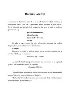 Discourse Analysis Research Papers by Discourse Analysis
