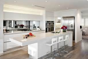 Mirrored Backsplash In Kitchen open concept kitchens have become the popular choice in today s