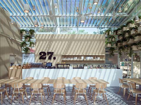 design concept green house botanical brew four o nine converts greenhouse into