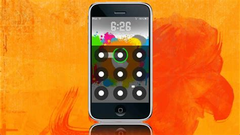 pattern unlock for iphone 5 androidlock unlock your iphone ipod touch by drawing a