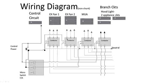 wiring diagram for shunt trip circuit breaker relay wiring