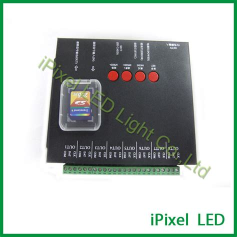 Controller Pixel Rgb Programmable Led With Sd Card And Software color t8000 programmable rgb sd card pixel led controller buy sd card controller