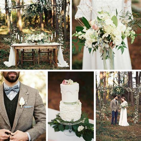 an elegant woodland wedding inspiration shoot chic