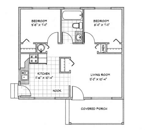 House Plans 900 Sq Ft by Inspiring 900 Sq Ft House Plans 1000 Square Foot Ranch