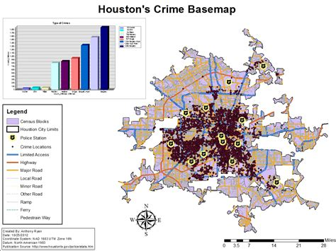 houston crime heat map houston crime map map3