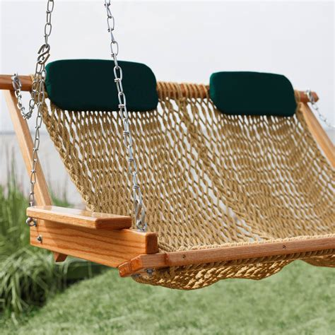 swing rope replacement double chair swing seat