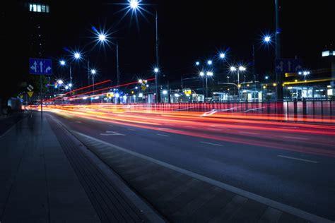 Free picture: street, light, asphalt, speed, lines