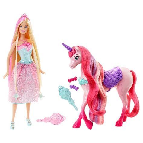 film barbie unicorn barbie princess and unicorn giftset target