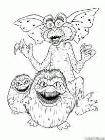 disegni da colorare troll angry