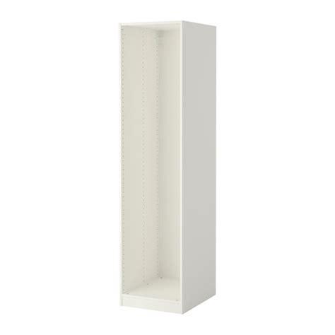 wardrobe white ikea pax wardrobe frame white 50x58x201 cm ikea