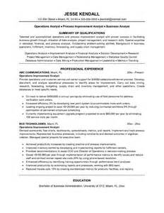 Logistics Analyst Cover Letter by Clinical Analyst Resume Exle Certified Professional Contract Analyst Templates