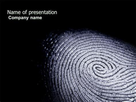 fingerprint template for fingerprint presentation template for powerpoint and